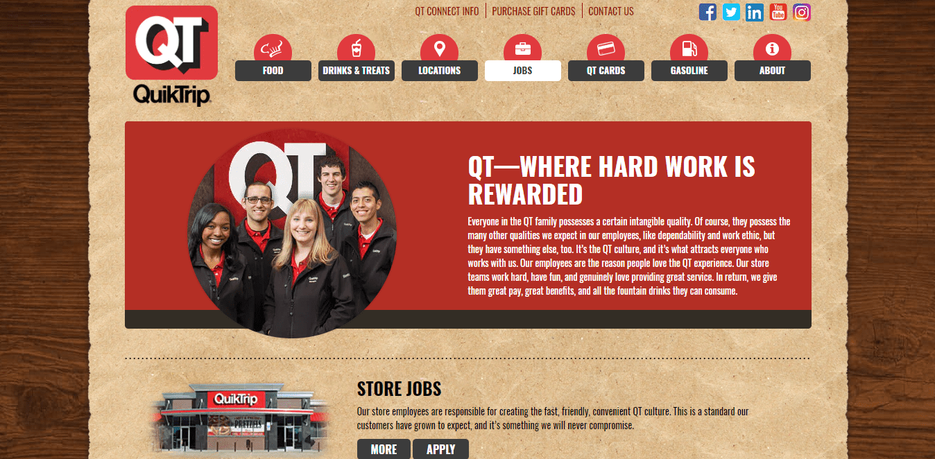 QuikTrip Application, Careers, Jobs Available And More