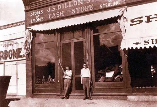 vintage dillon store