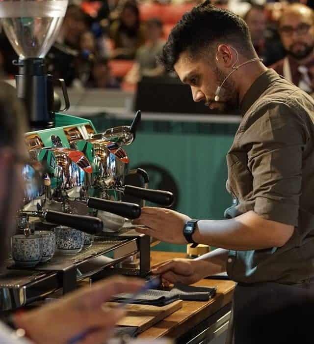 lead barista