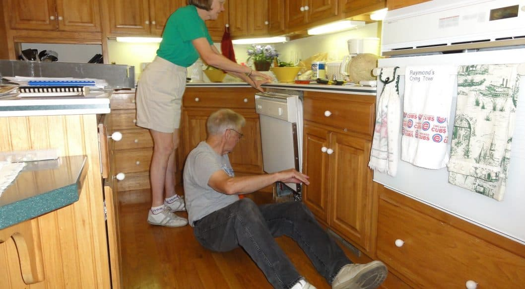 Appliance Repair Technician - My parents celebrated our arrival by — fixing the dishwasher?